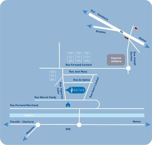 Plan centre oxalys